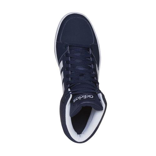 Sneakers da uomo alla caviglia adidas, viola, 801-9140 - 19