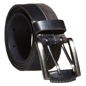 Cintura da uomo in pelle bata, nero, 954-6162 - 13