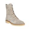 Scarpe stringate in pelle bata, grigio, 593-2106 - 13