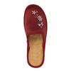 Pantofole da donna bata, rosso, 579-5348 - 19