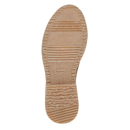 Scarpe da donna in stile Oxford bata, giallo, 529-8143 - 26