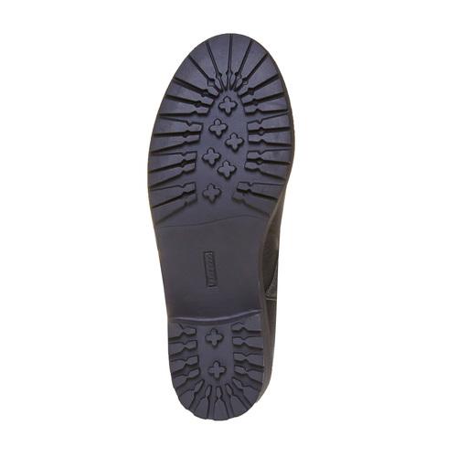 Stivali con borchie di metallo mini-b, nero, 391-6248 - 26