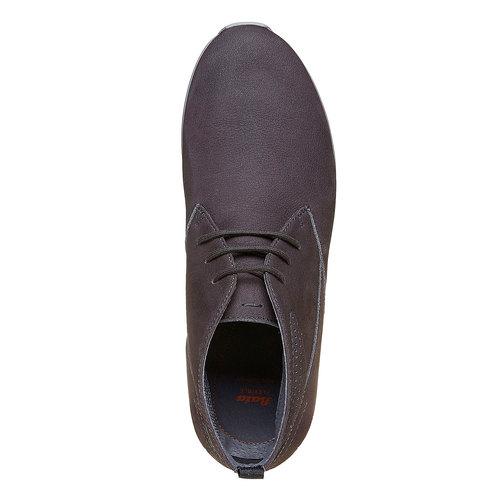Scarpe comode da uomo flexible, grigio, 846-2696 - 19