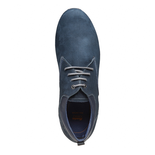 Sneakers da uomo in pelle flexible, viola, 846-9695 - 19