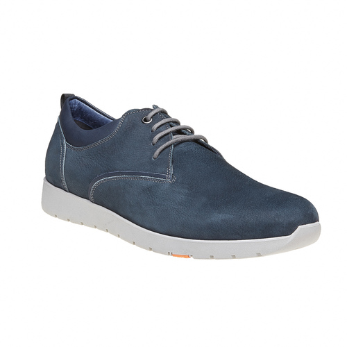 Sneakers da uomo in pelle flexible, viola, 846-9695 - 13