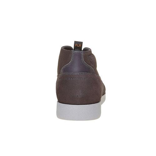 Scarpe comode da uomo flexible, grigio, 846-2696 - 17