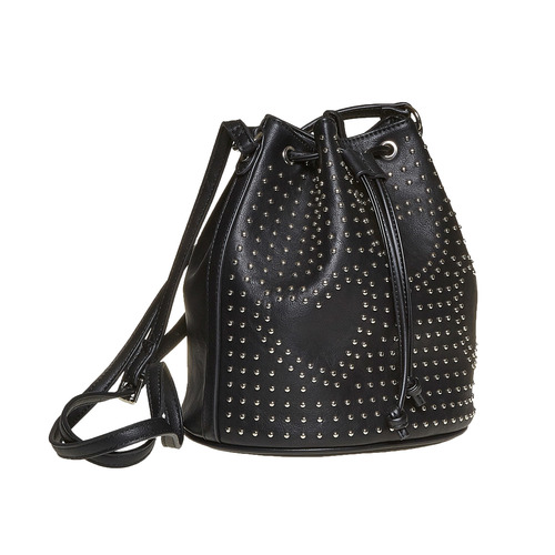 Borsetta in stile Bucket Bag bata, nero, 961-6853 - 13