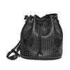 Borsetta in stile Bucket Bag bata, nero, 961-6853 - 26