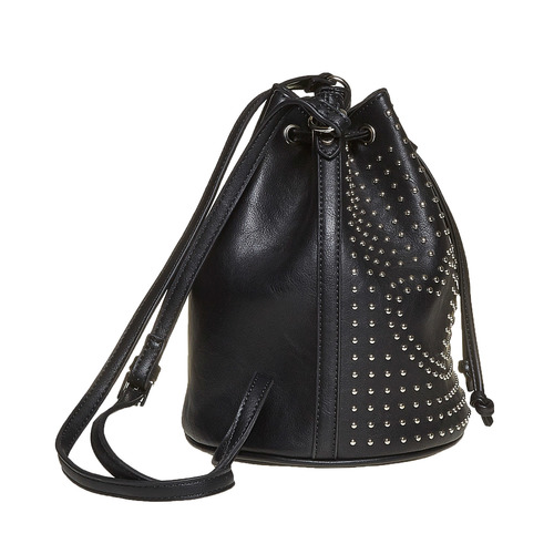 Borsetta in stile Bucket Bag bata, nero, 961-6853 - 17