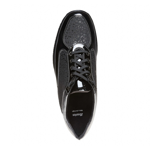 Sneakers eleganti da donna bata, nero, 524-6212 - 19