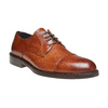 Scarpe basse di pelle con suola in pelle bata-the-shoemaker, marrone, 824-3185 - 13