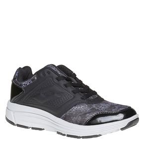 Sneakers da donna con suola alta lotto, grigio, 501-2156 - 13