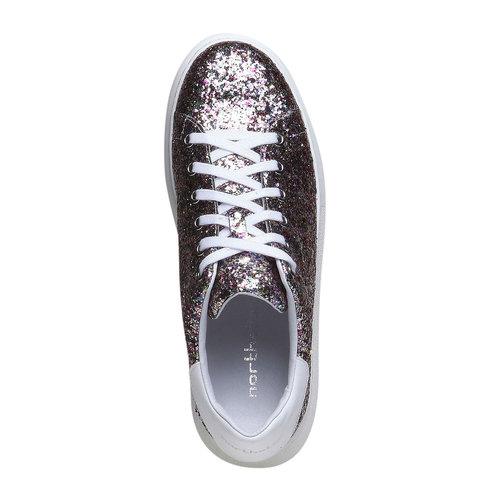 Sneakers da donna con glitter north-star, 541-0223 - 19