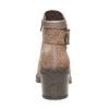 Scarpe da donna di pelle alla caviglia bata, marrone, 793-4542 - 17