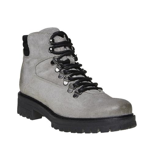Scarpe alla caviglia da donna weinbrenner, grigio, 593-2810 - 13