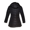 Giacca da donna con colletto in pelliccia bata, nero, 979-6649 - 26