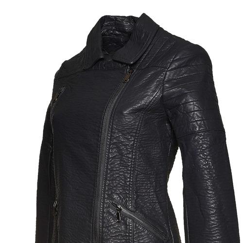 Giacca da donna con cerniera trasversale bata, nero, 971-6188 - 16