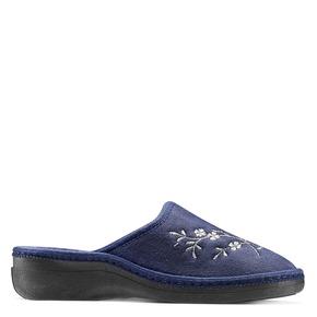 Pantofole da donna bata, viola, 579-9280 - 13