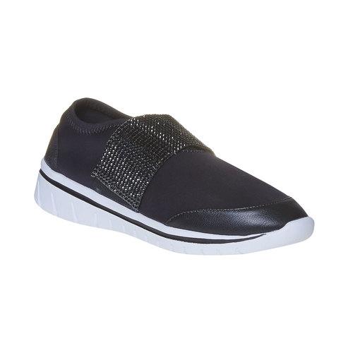 Sneakers da donna north-star, nero, 549-6260 - 13