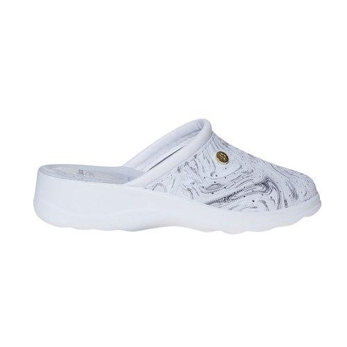 Pantofole da donna, grigio, 574-2346 - 15