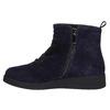 Scarpe in pelle da donna alla caviglia flexible, blu, 593-9577 - 19