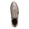 Sneakers in pelle da donna con strass flexible, giallo, 524-8223 - 19
