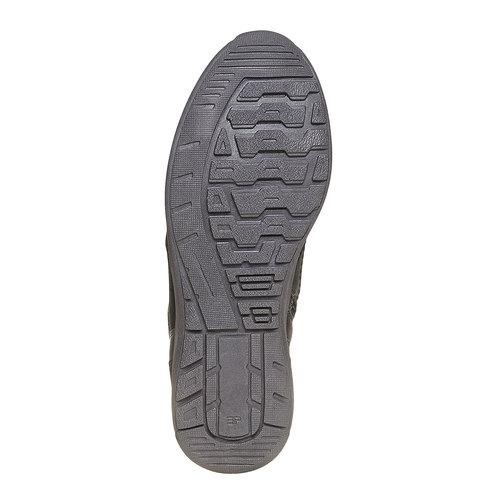 Sneakers da uomo in pelle bata, nero, 894-6697 - 26