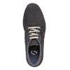 Sneakers in pelle alla caviglia bata, grigio, 843-2688 - 19
