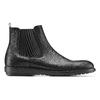 Scarpe da uomo in stile Chelsea Boots flexible, nero, 894-6233 - 26