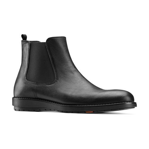 Scarpe da uomo in stile Chelsea Boots flexible, nero, 894-6233 - 13