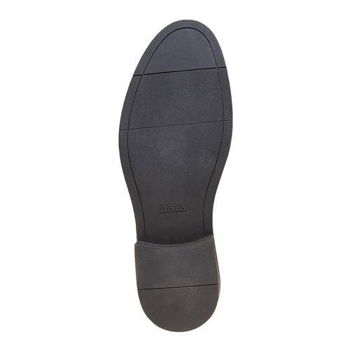 Scarpe basse Derby di pelle da uomo bata, nero, 824-6219 - 26
