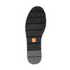 Slip-on da donna di pelle con orlatura flexible, nero, 514-6257 - 26