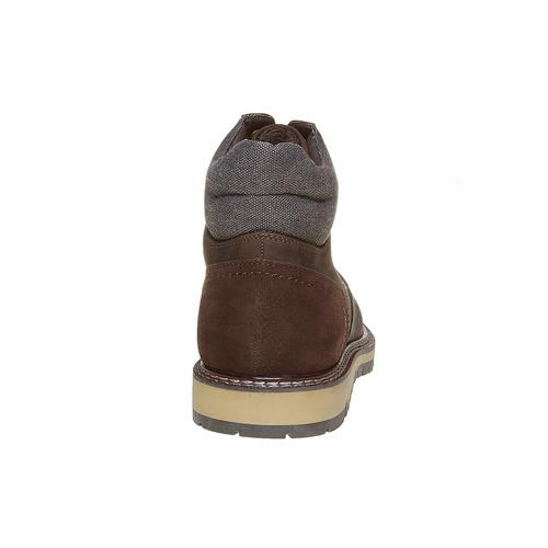 Scarpe da uomo alla caviglia, marrone, 891-4529 - 17