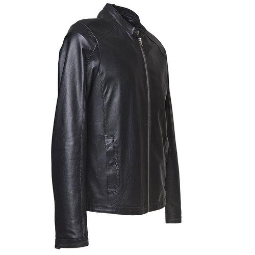 Giacca da uomo in pelle bata, nero, 974-6164 - 16