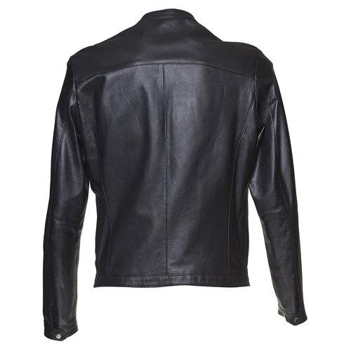 Giacca da uomo in pelle bata, nero, 974-6164 - 26