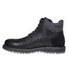 Scarpe da uomo alla caviglia, nero, 891-6529 - 19