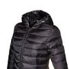 Giacca trapuntata da donna con cappuccio bata, nero, 979-6643 - 16