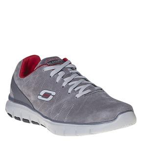 Sneakers da uomo in pelle skechers, grigio, 803-2351 - 13