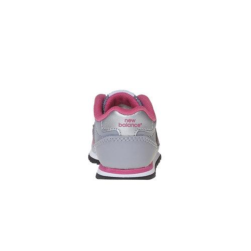 Sneakers grigie da bambino new-balance, grigio, 101-2500 - 17