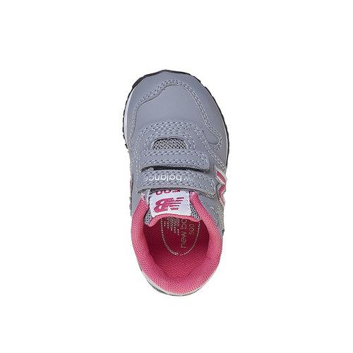 Sneakers grigie da bambino new-balance, grigio, 101-2500 - 19