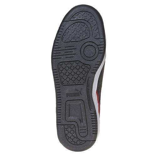 Sneakers da bambino alla caviglia puma, bianco, 401-1320 - 26