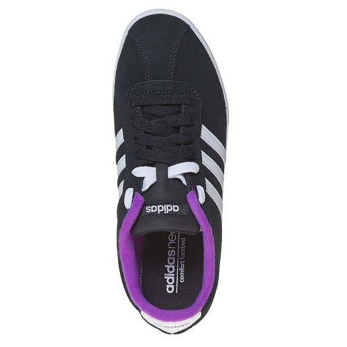 Sneakers da donna in pelle adidas, nero, 503-6201 - 19