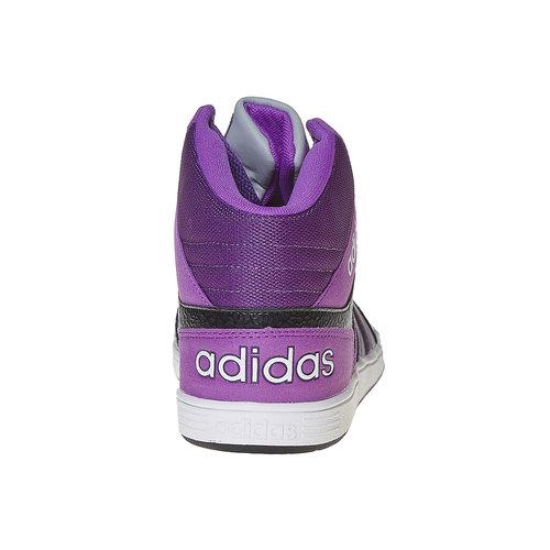 Sneakers da bambina alla caviglia adidas, grigio, 401-2331 - 17