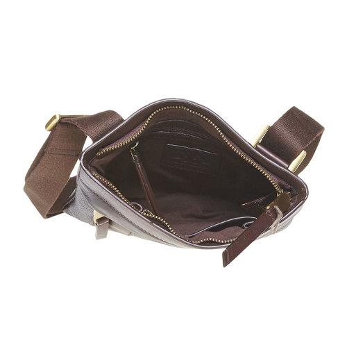 Borsello in pelle bata, marrone, 964-4131 - 15