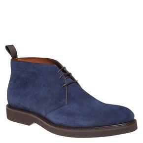 Scarpe da uomo in stile Chukka bata-the-shoemaker, blu, 893-9702 - 13