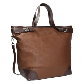 Borsetta in stile Tote Bag bata, marrone, 961-3206 - 13