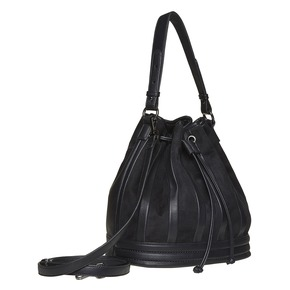 Borsetta in stile Bucket Bag bata, nero, 961-6226 - 13
