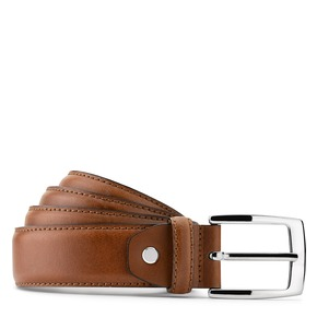 Cintura in pelle da uomo bata, marrone, 954-3170 - 13