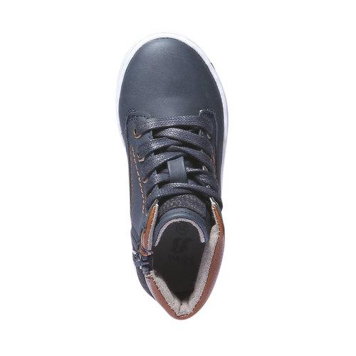 Sneakers da bambino alla caviglia mini-b, viola, 211-9124 - 19