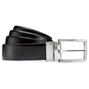 Cintura da uomo in pelle bata, nero, 954-6126 - 13